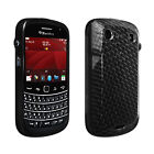 OEM Verizon High Gloss Silicone Cover Case for BlackBerry Bold 9900 9930 Black