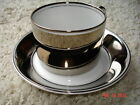 Fitz & Floyd Rondelet Platinum 88 piece set dinnerware china plate cups SV3