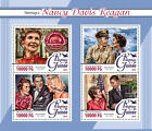 Guinea 2016 MNH Nancy Davis Reagan 4v M/S Ronald Marilyn Monroe Obama Stamps