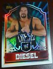 Diesel Signed 2011 Topps WWE Classic Card #82 Kevin Nash Pro Wrestling Autograph