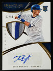 Kris Bryant 2015 Panini Immaculate Auto 3 Color Jersey Patch RC 2 99 Cubs