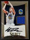 Klay Thompson 2012-13 Panini Select Jersey Auto RC Rookie Card 87 199 Warriors