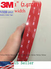 3M 1 x 21 ft VHB Double Sided Foam Adhesive Tape 5952 Automotive Mounting