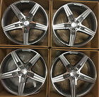 4 NEW 20 2017 OEM MERCEDES BENZ S63 AMG WHEELS S550 S CL550 CL63 CL65 CLK E CLS