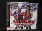 BEAUVOIR/FREE American Trash + 1 JAPAN CD Crown Of Thorns Kiss Plasmatics
