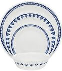 Corelle Boutique  Porto Calle 16-Piece Dinnerware Set Service for 4 NEW