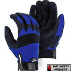 Mechanics Work Gloves Synthetic Leather Amorskin Majestic Glove 2137bl Sm-2xl