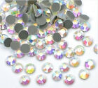 1440 pcs Iron On Flat Back Hot Fix Seed Rhinestones Color  Size Multi Selection
