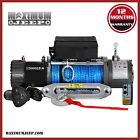 12000LBS Electric Winch Wireless Synthetic Rope 4WD Jeep WRANGLER