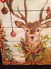 Christmas Reindeer Sign Picture Wood Rudolph Cute 18