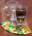 100 double wall tea cups insulated glass cups