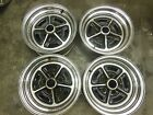Buick Grand Sport Rally Wheels Rims Chrome Regal Rally Wheels Set of 4 14x6 BRW