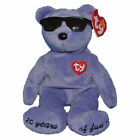 Ty Beanie Baby Summertime Fun - MWMT (Bear Violet Toronto Gift Show Exclusive 20