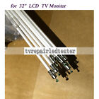 32 LCD CCFL lamp backlight tube 704MMx38MM with holder without solder 10pcs