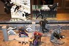 McFarlane Matrix 65 7 HUGE 10 FIGURE  DIORAMA LOT Twin Morpheus Neo Trinity
