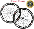 Superteam Carbon Wheels 60mm Clincher Carbon Road Bicycle Wheelset Road Wheelset