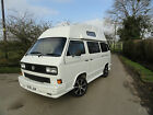 VW Campervan T25 classic 4 berth high top with awning mains and 12v