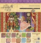 Graphic 45 NUTCRACKER SWEET 12 X 12 Card Stock Pad Retired Christmas HTF