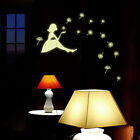 Glow Girl Dandelion Luminous Kids Bedroom Decor Wall Sticker Decal Handy