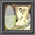 NEW Bands of Gold 50th Wedding Golden Anniversary Gift Picture Frame 6779B