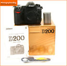 Nikon D200 Digital 10MP SLR Camera Body Battery + Free UK Post