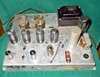 Vintage Magnavox 185-BB Stereo Tube Amp Amplifier 6V6GT Untested w/ Controls