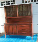 BROYHILL PREMIER MID CENTURY CHINA CABINET ANTIQUE VINTAGE GREAT CONDITION