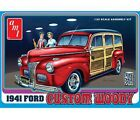 AMT 1941 Ford Woody - Plastic Model Vehicle Kit - 1/25 Scale - #906-12