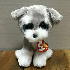 NEW TY BEANIES BOOS Dog Whiskers  MINT Stuffed doll 6