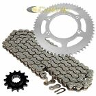 Drive Chain & Sprockets Kit for Suzuki DR-Z125L DRZ125L 2003-2016