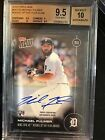 2016 TOPPS NOW #OS-17B MICHAEL FULMER AUTO CARD # 99 AL ROY BGS 9.5 10 POP 1