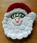 Fitz & Floyd Santa Christmas Stocking Stuffers Snack Plate & Spreader