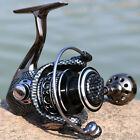 Spinning Fishing Reel for Saltwater Freshwater Strong Smooth Double Bearing Reel