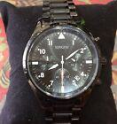 Watch Songdu Black Dial Quartz stainless steel Black Bracelet d-9202M Mens
