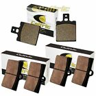 FRONT REAR BRAKE PADS FIT DUCATI M-750 M750 Monster 750 1997-1999