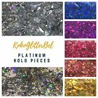 Amazing Holo Glitter Pieces Sparkly  1 TSP  Holographic Acrylic Gel Nail Art