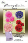 BLOOMING BEAUTIES Spiral Blossoms Template 3D Quilled Quilling Flower Paper Kit