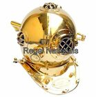 Brass Morse US Navy Mark V Diving Divers Helmet Solid Steel Full Size 18