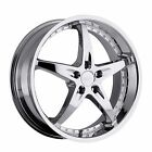 4 New 20 Wheels Rims For Volkswagen EOS Golf GTI Jetta Passat Phaeton 9740