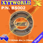 FRONT Brake Shoes for HONDA TC 50 Y/2 TA02 Gyro Canopy 2000 2001 2002