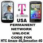 HTC NETWORK UNLOCK CODE FOR T MOBILE USA HTC AMAGE 4G SENSATION 4G