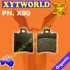 FRONT Brake Pads HONDA X8R-S Scooter 1998 1999 2000 2001 2002 2003 2004