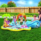 Inflatable Water Park Slide Baby Child Pool Center Play Toy Summer Perfect Fun