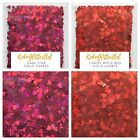 Holographic Hearts Glitter Pink Red  1 TSP  Acrylic Gel Nail Art Sparkles