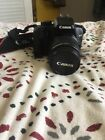 Canon EOS Digital Rebel XS EOS 1000D 101 MP Digital SLR Camera Black Kit