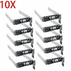 LOT of 10 G176J 25 SAS SATA Hard Drive Tray Caddy for DELL R610 R710 T710 US