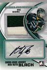 11-12 ITG HEROES AND PROSPECTS BLACK JERSEY CLR AND AUTOGRAPH MAX DOMI 6
