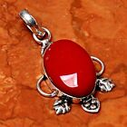Free Shipping 925 Sterling Silver Overlay Handmade Pendant Jewelry 175 98