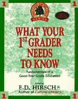 What Your First Grader Needs to Know The Core Knowledge ExLibrary