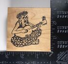 HIPPY Rubber Baby Buggy Bumpers Rubber Stamp Peace Music Groovy 70s 461
